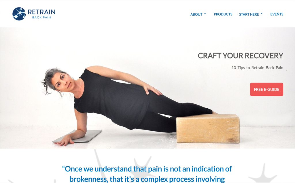 Retrain Back Pain Re-do