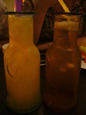 柳橙蘆薈+茶