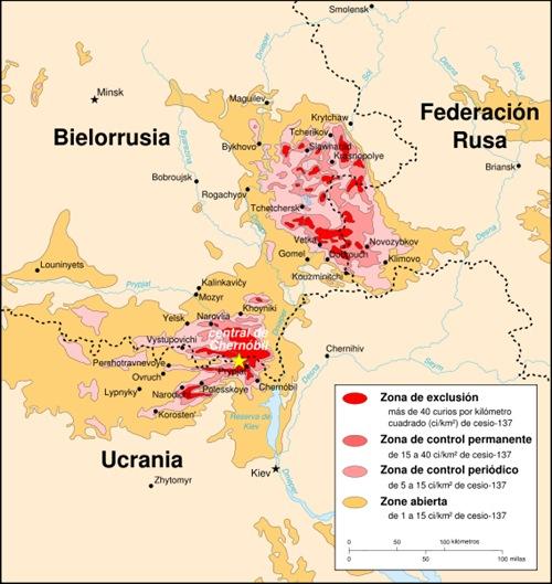 Chernobyl Zona de exclusion