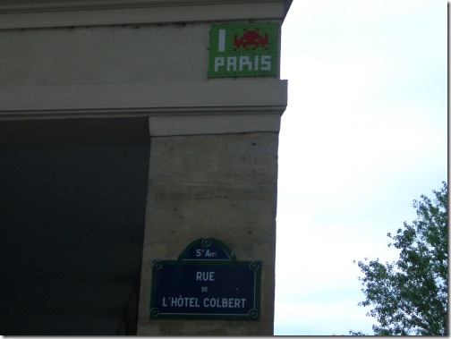 Los marcianos tienen una calle en Paris